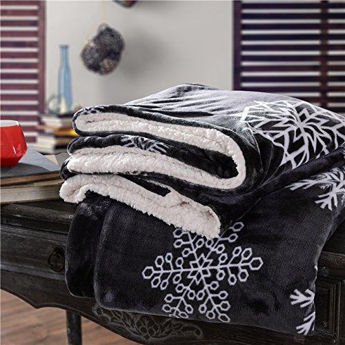 BDUK Coral de invierno Frazada gruesa manta de franela cubrecamas Oficina Siesta mantas mantas Twin solo Blanket BDUK