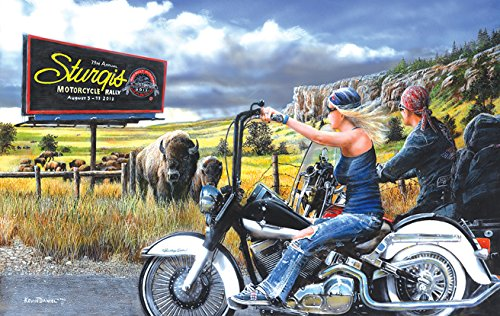 Route to Sturgis 500 piece jigsaw puzzle