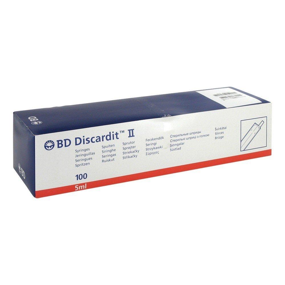 Bd Discardit Ii Spritze 100x5 Ml Alle Produkte Spuit 3ml