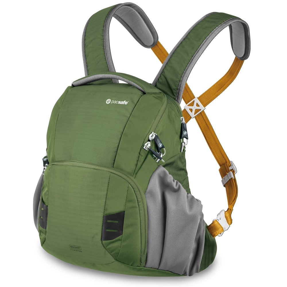 Pacsafe Camsafe V11 Anti-Theft Camera Front Pack, Olive Outpac Designs Inc - PACSAFE - CA V11-Olive