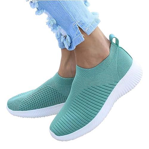 a257da3a3f6 Amazon.com   Susanny Womens Fashion Sneakers Casual Flat Running ...