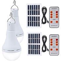 Solar Light Bulb Outdoor Portable Rechargeable Solar lamp Lights for Home Yard Patio Garden Umbrellar Chicken Coop Pet…