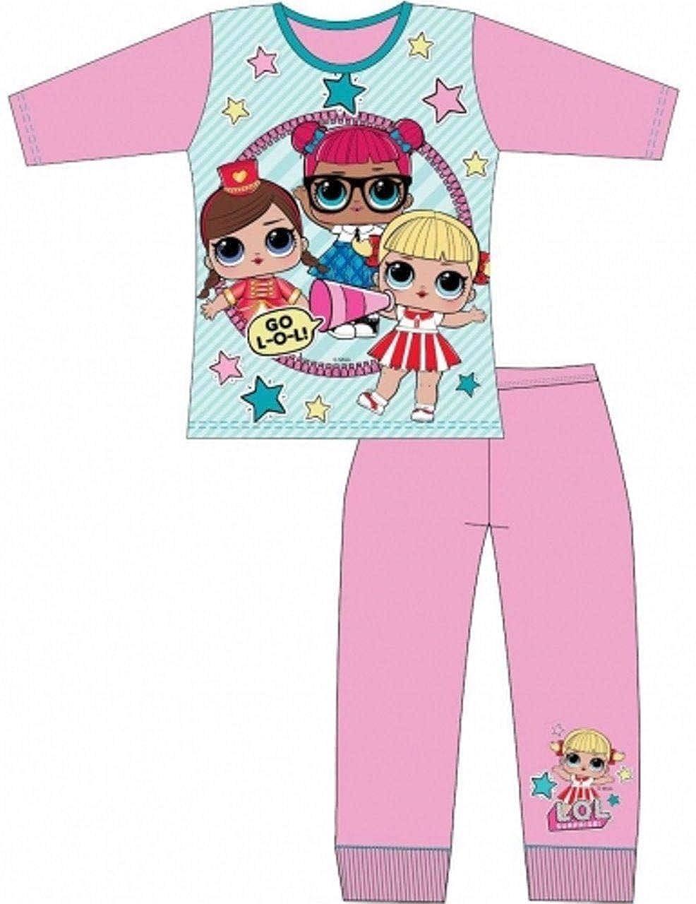 TDP Girls LOL Surprise Dolls Pjs Kids Pyjamas Set Gift Character