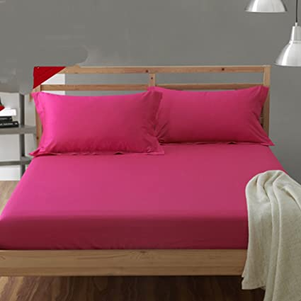 Thickened Warm Bed Sheets,Mattress Bed Cover Bed Pads Protective Case 360°  Full Coverage