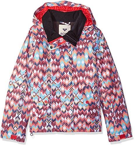 Roxy Big Girls' Jetty Snow Jacket, Sequin, 16/XXL
