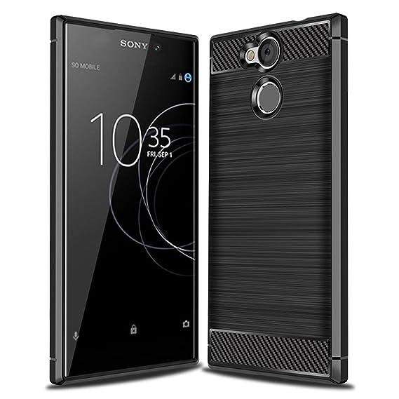 official photos 6e1c4 be7ab Amazon.com: Sony Xperia L2 Case, Everstars Superior Quality ...