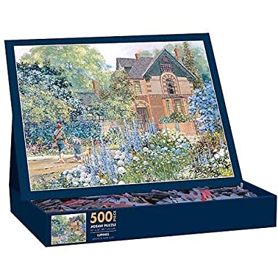 Lang Lupines By Dr Laird Jigsaw Puzzle 500 Piece By Lang