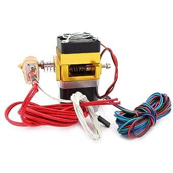Impresora 3D - Cabezal extrusor MK9 con termistor NTC 100k y ...