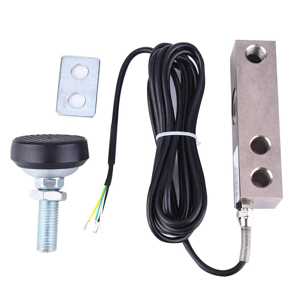 Shear Beam Load Cell Sensor,Weighing Sensor,Small Loadometer Sensor with Shielded Cable 2000Kg,Applied to Electronic Platform Scale, Track Scale, Automobile Weighing Equipment