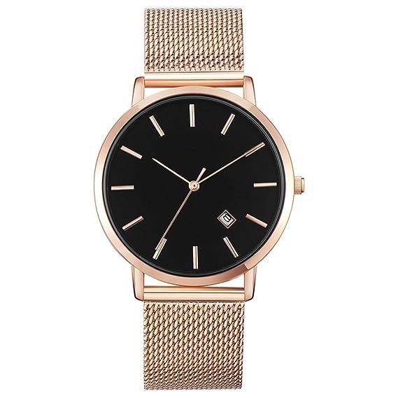 Reloj para mujer 2018 Nuevo reloj de pulsera de moda resistente al agua Reloj de pulsera para mujer Trend Trend Ultrathin Quartz: Amazon.es: Relojes