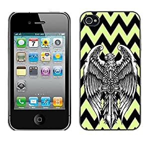 Dragon Case - FOR iPhone 4 / 4S - A good beginning - Caja protectora de pl??stico duro de la cubierta Dise?¡Ào Slim Fit