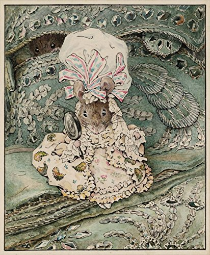 - Lady Mouse : Beatrix Potter : circa 1902 : Art Print Home Decor
