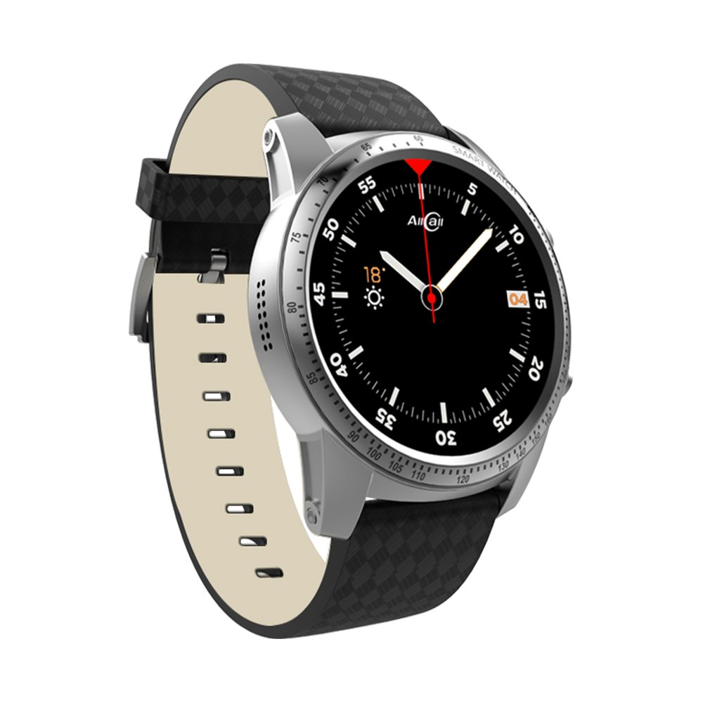 AllCall Bluetooth Smartwatch Phone Business Smart Watch Big momery 2gb RAM 16gb ROM Fitness Tracker,Google iOS Assistant Support Sim GPS Built-in Quad ...