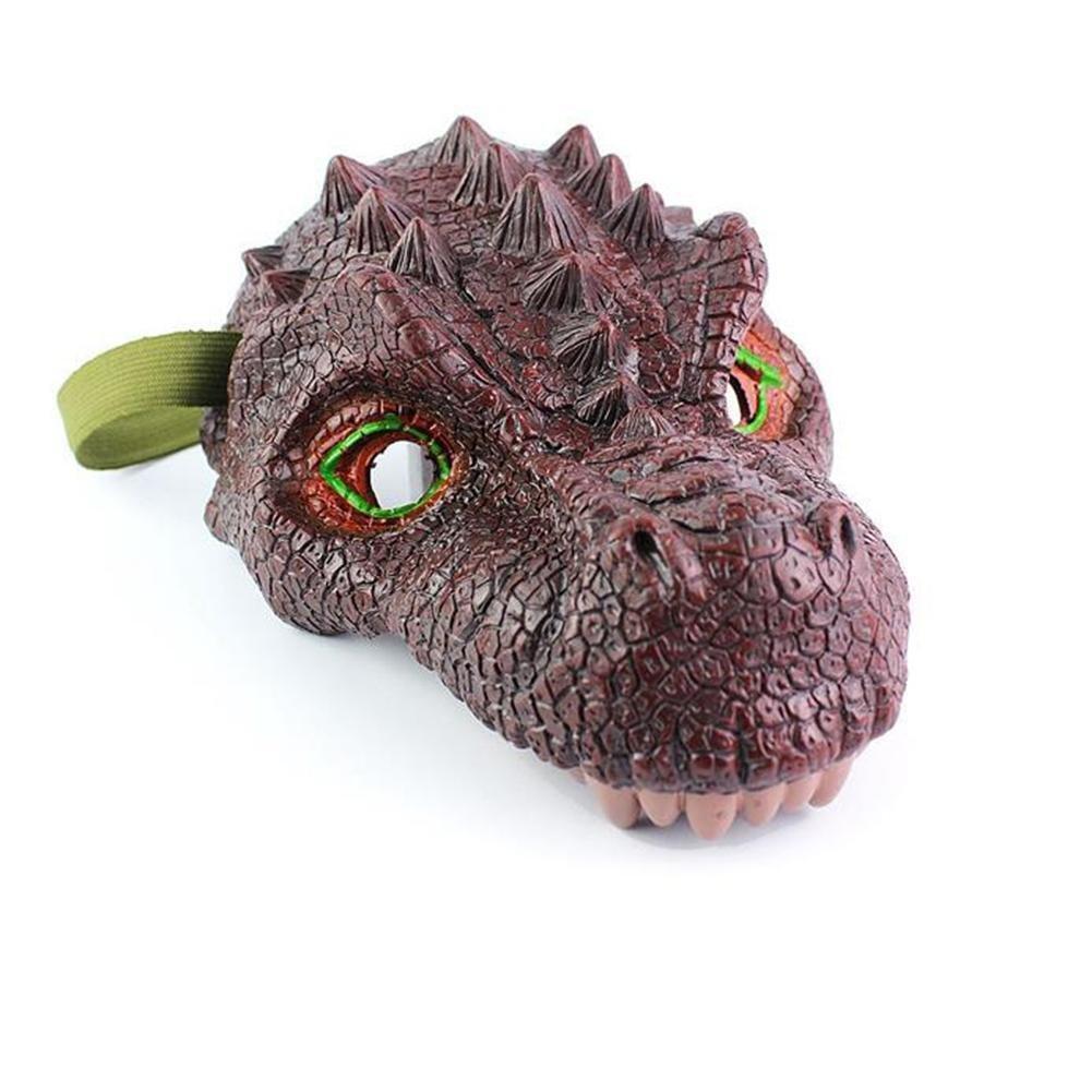 Children Costume Masks Dinosaur Halloween Cosplay Toys Animal Head Dino Mask Party Favors for Kids Lianrx