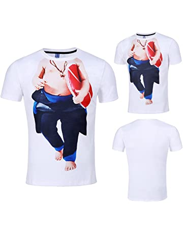 0dc271e9afce JYC Classic Shortsleeve Men's Casual Funny Baby 3D Printing Short Sleeve O-neck  T-