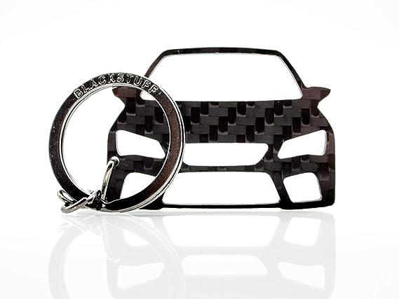 BlackStuff Llavero De Fibra De Carbono Cadena De Claves Compatible con Leon MK3 5F Cupra 2012-2019 BS-674