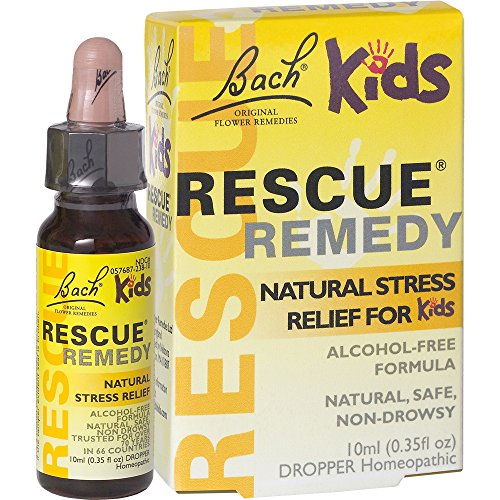 Rescue Remedy Herbal - Bach Kids Rescue Remedy Natural Stress Relief Drops, 10 ml
