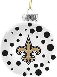 Amazon.com : NFL New Orleans Saints Polka Dot Ball ...