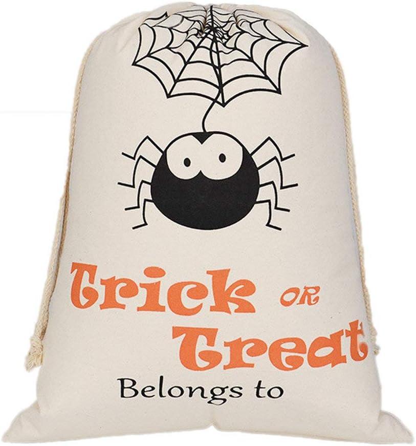Bolsa de Halloween Bolsa de Regalo Adulto Hombre Mujer Bolsas de ...