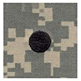 Army ROTC Rank SEW-ON for Patrol Cap - ACU DIGITAL (Cadet - 2LT (Large Dot))