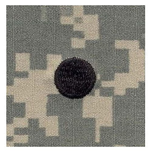 Army ROTC Rank SEW-ON for Patrol Cap - ACU DIGITAL (Cadet - 2LT (Large Dot)) (Insignia Rotc Rank)