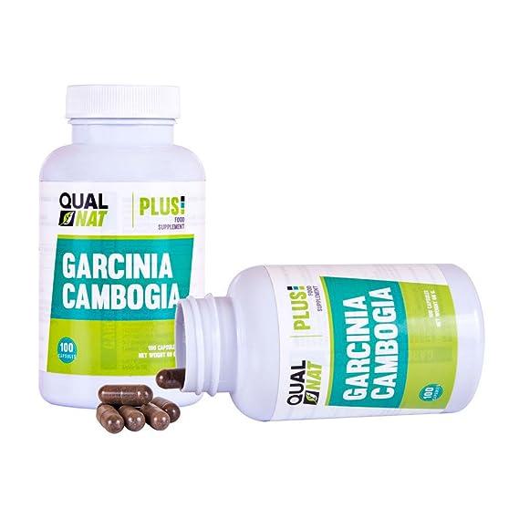 Garcinia Cambogia Plus con propiedades quemagrasas - Suplemento adelgazante y supresor de apetito de Garcinia Cambogia que ayuda a perder peso al ...