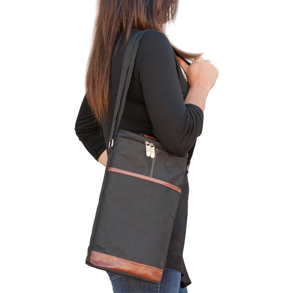 Wine Travel Carrier and Cooler Bag