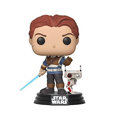 Funko Pop! Games: Jedi Fallen Order - Cal Kestis with BD-1: Toys & Games