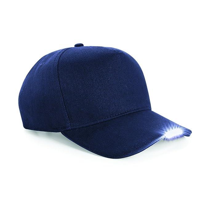 Beechfield - Gorra Visera con LED - Verano Playa (Talla Única Azul ... f4737786191