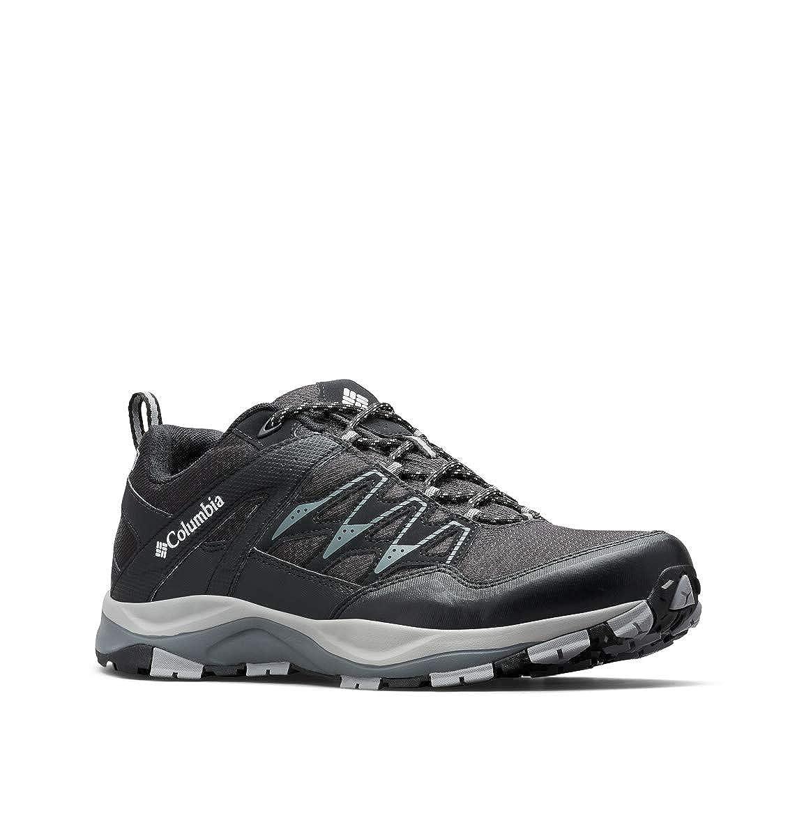 Noir (noir, Lux) 44 EU Columbia Wayfinder Outdry, Chaussures de Randonnée Basses Homme