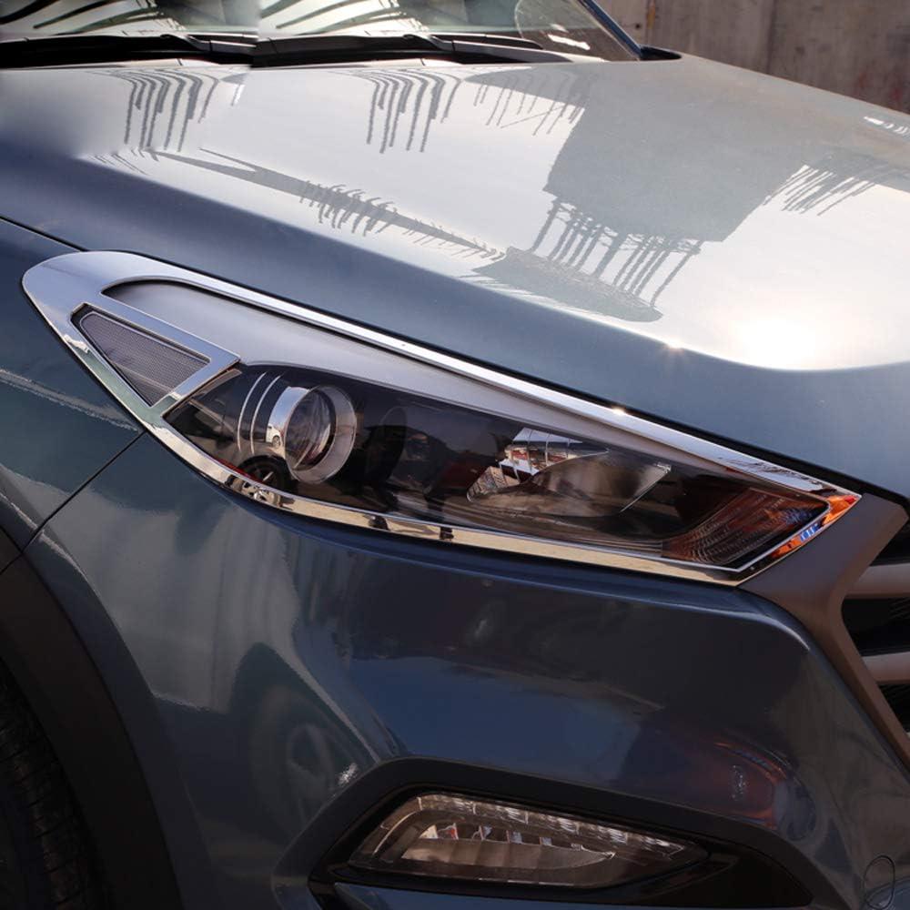 Chrome Rear Tail Light Lamp Cover Trim for 05~09 Hyundai Tucson