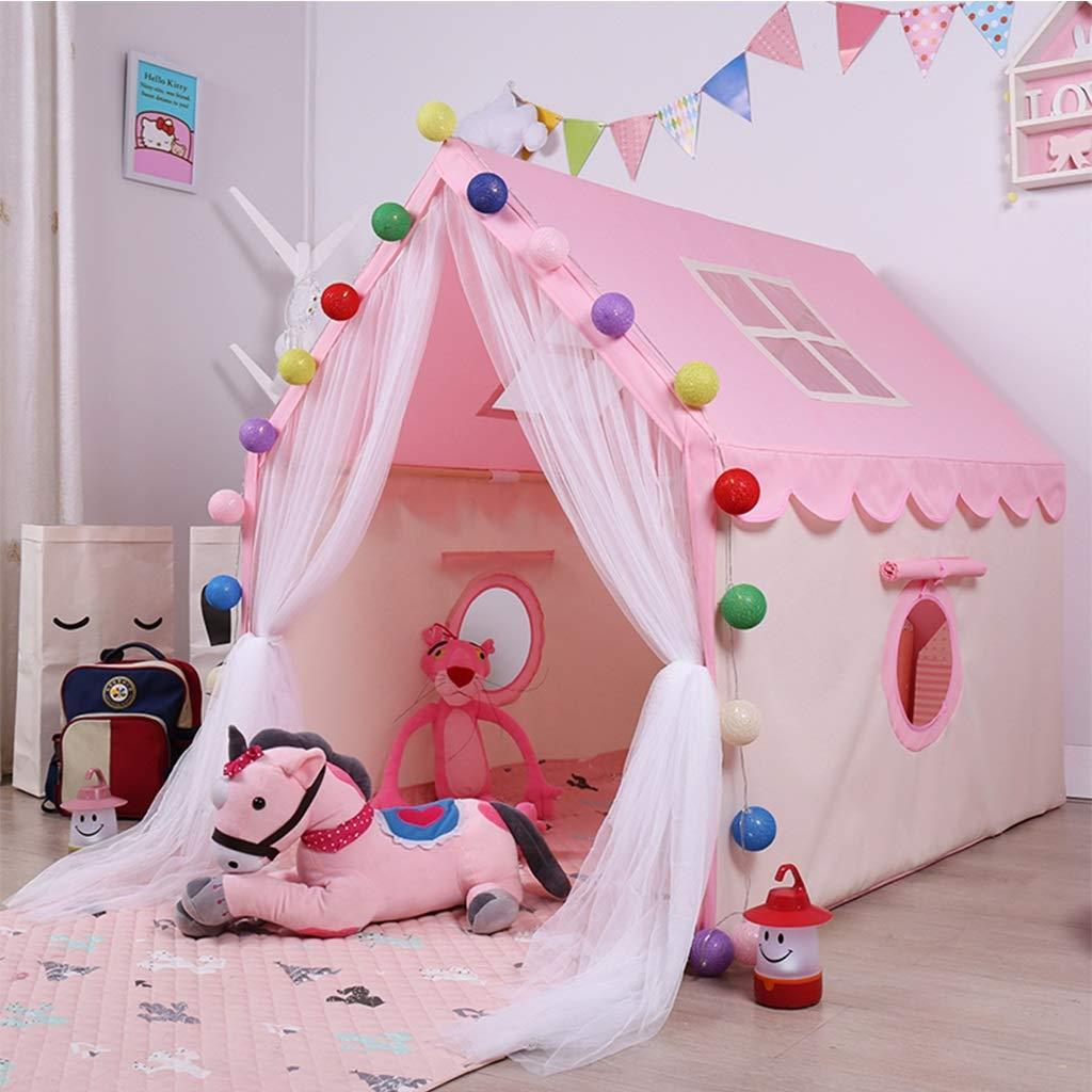Spielzelte Kinderzelt Indoor Jungen Spielhaus Zelt Spielen Kinderspielhaus Kinder Kinder Kinder Kinder (Farbe   Rosa, Größe   100x126x120cm) 22d64a