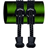 AKTIVX SPORTS No Tie Elastic Shoe Laces for Golf Shoes that lock – Top Golf Gift Accessories for Golfers – Replacement Elastic Golfing Shoelaces & Golf Equipment