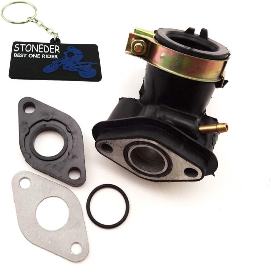 Stoneder Motor Vergaser Ansaugkrümmer Zulaufrohr Dichtung Für Gy6 50cc Roller Moped Auto