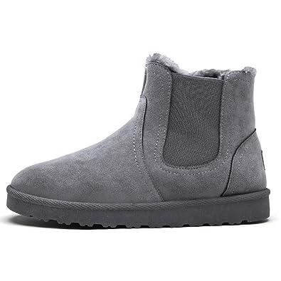 922417e2b20bc Männer Stiefeletten Mode Plus Samt Schuhe für männliche Winterschuhe ...