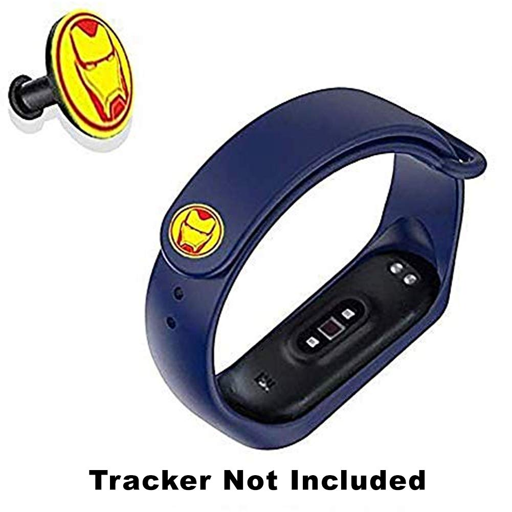 CellFAther® Soft Silicone Wristband Strap for Xiaomi Mi Band 4/ Mi 3 Band Iron Man-Midnight Blue (Tracker Not Included) (B07Z4T7QH5) Amazon Price History, Amazon Price Tracker