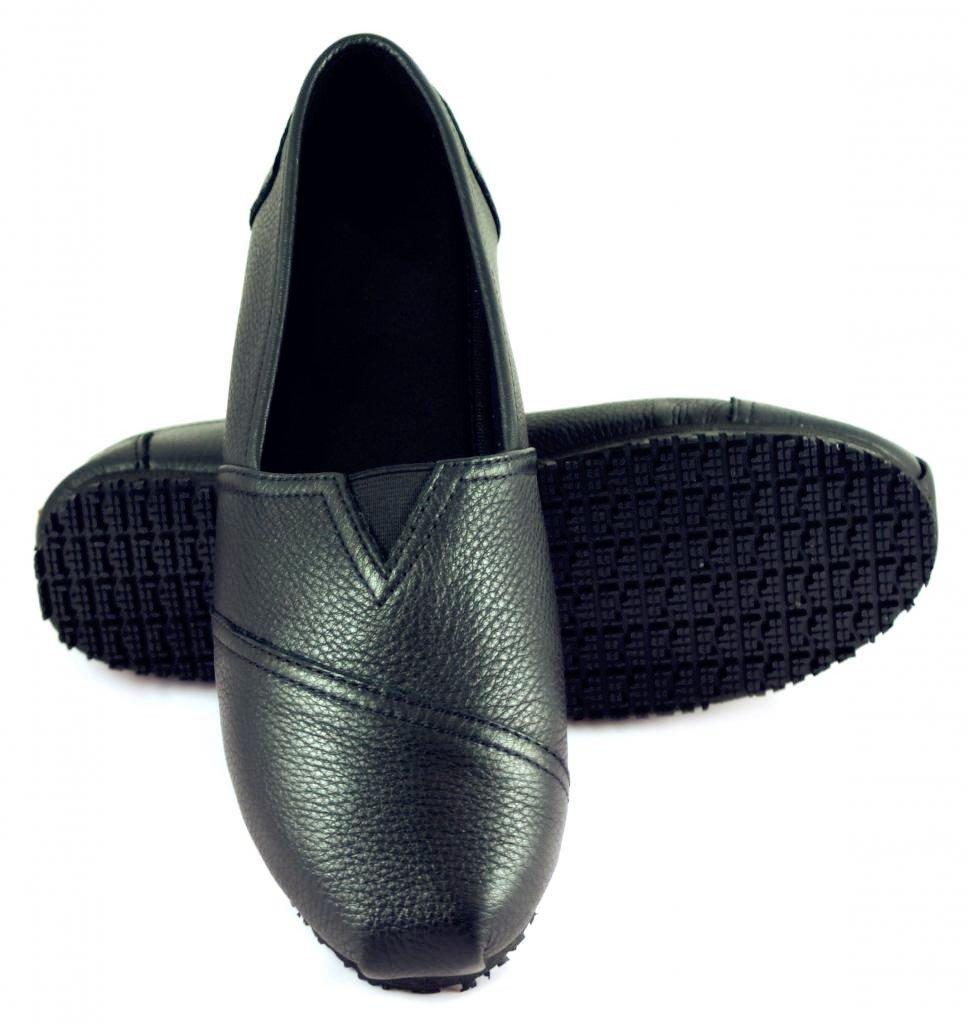 Townforst Women's Slip and Oil Resistant Jess Shoes No Slip Shoes (8M)
