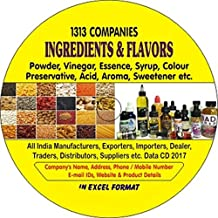 Ingredients & Flavors Companies Data