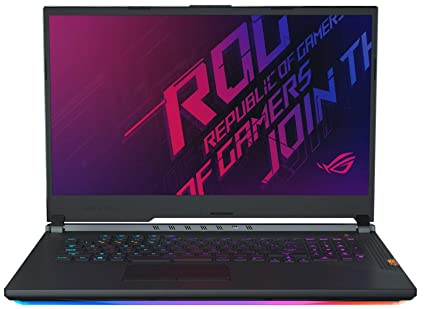 CUK ASUS ROG Strix Hero III G731GV Gaming Laptop (Intel i7-9750H, 32GB RAM,  512GB NVMe SSD + 1TB HDD, NVIDIA GeForce RTX 2060 6GB, 17 3