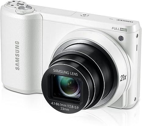 Samsung ec-wb800ffpbus 16,3 MP Smart cámara Digital con 21,0 x Zoom Óptico de Imagen estabilizada con Pantalla TFT LCD de 3 Pulgadas: Amazon.es: Electrónica