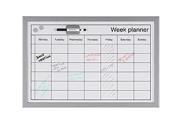 Bi-Office MM03000839 - Pizarra de planificación semanal con ...