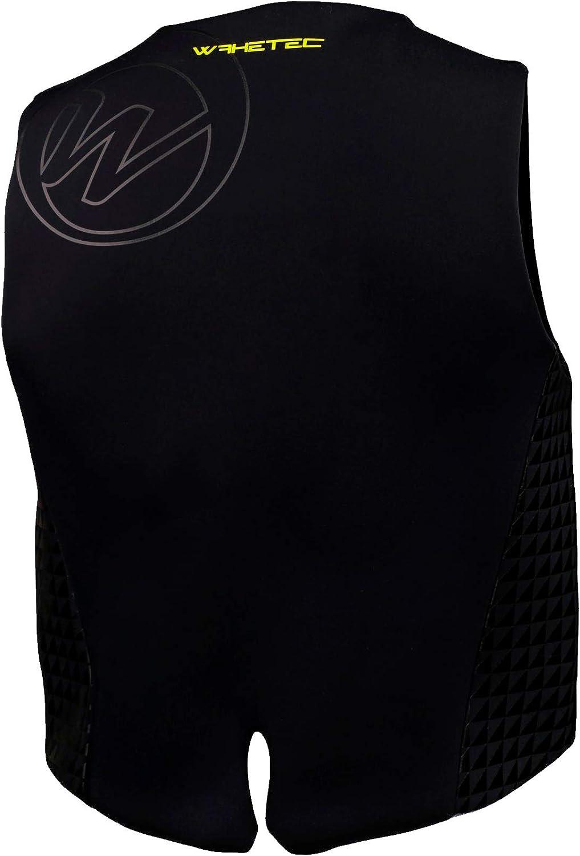 Buoyancy Aid M black-lime S Jet-Skivest Unisex Wakeboardvest L Sizes XS WAKETEC Neopren-Vest Mens 50-N Buoyancy Impact-Vest XXL XL