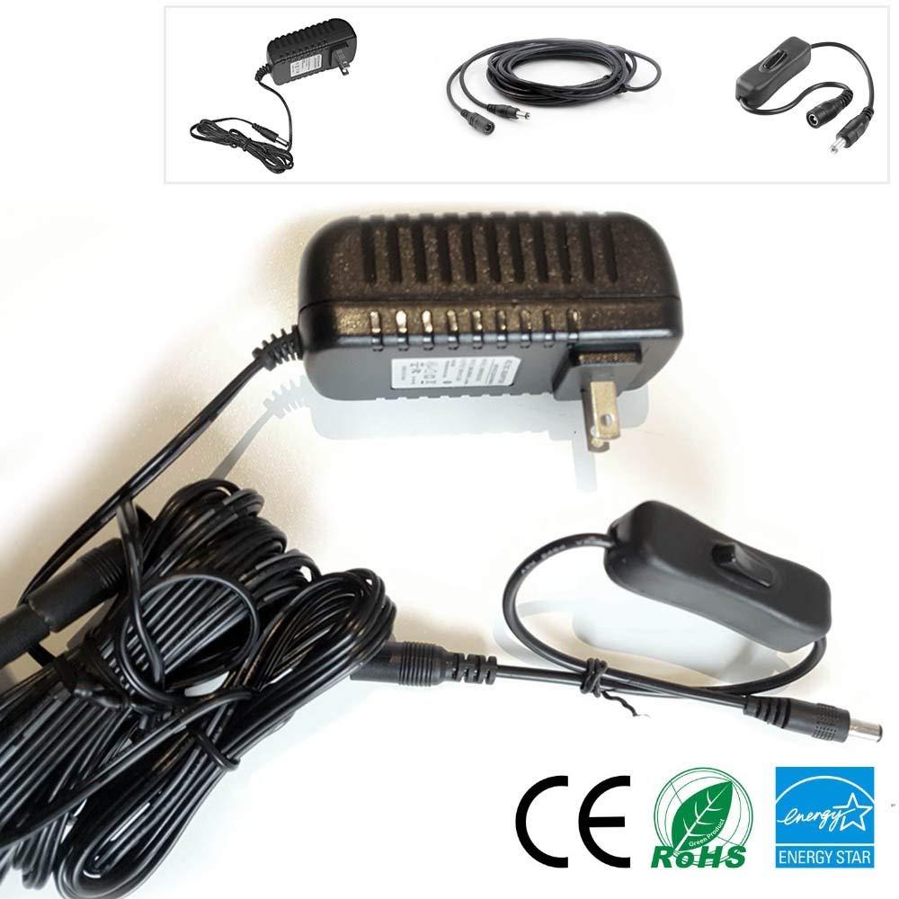 US Plug MyVolts 9V Power Supply Adaptor Compatible with M-Audio Keystation Pro 88 Keyboard