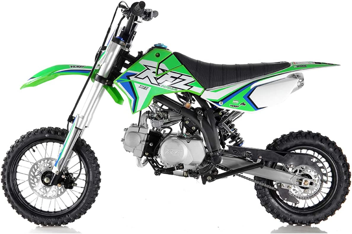 125cc Dirt Bike Pit Bike Adults Dirt Bikes Pit Bikes Youth Dirt Pitbike 125 Dirt Bike,Blue