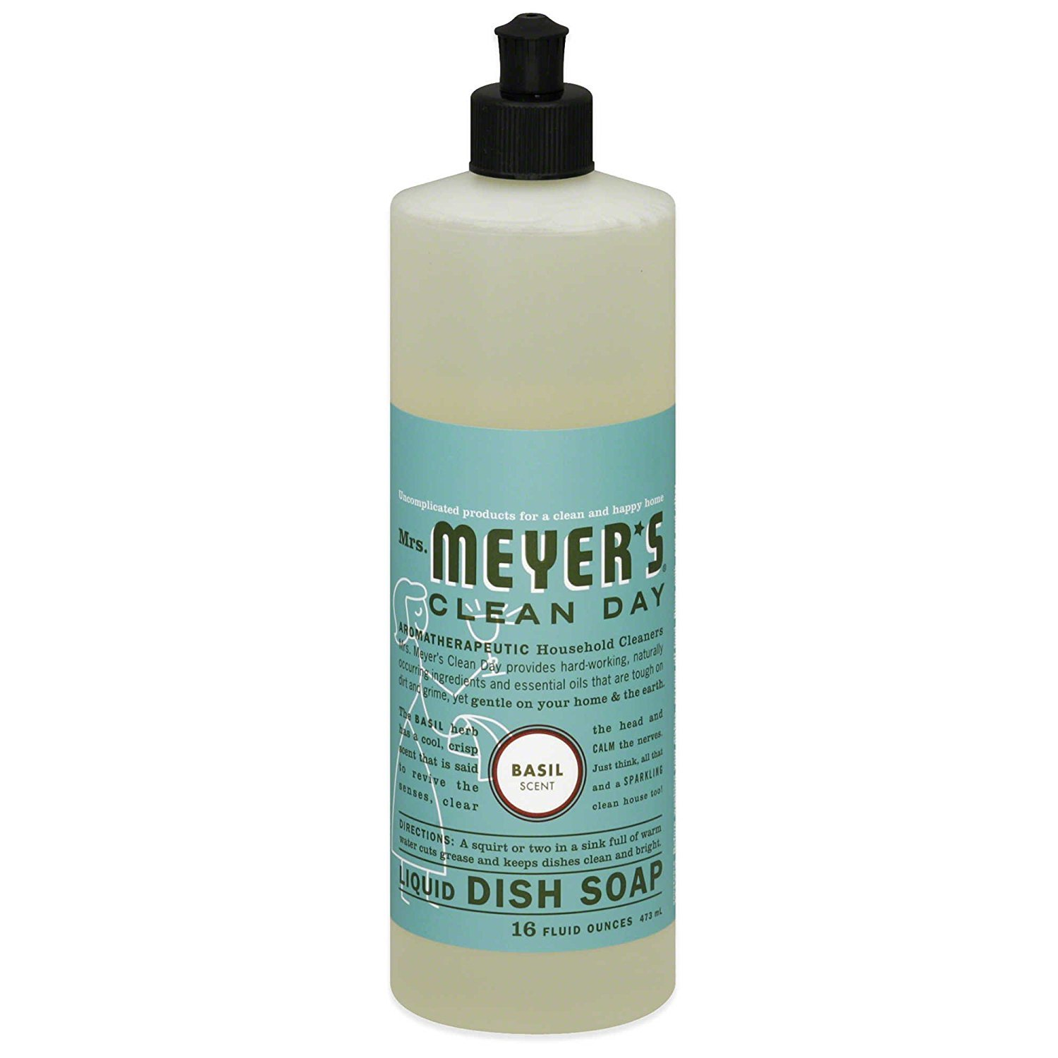 Amazon.com: Mrs Meyers Clean Day Multi-Surface Everyday Cleaner ...