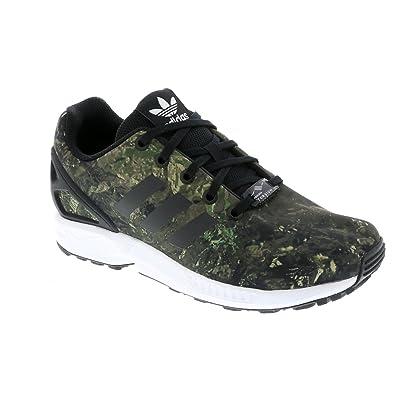 low priced 49635 09484 adidas ZX Flux J, Chaussures de Fitness Mixte enfant, Noir  (Negbas Negbas Ftwbla 000), 35.5 EU