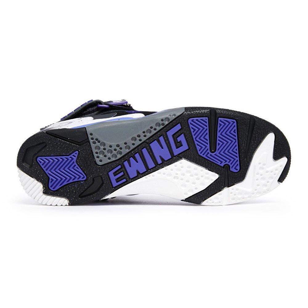 separation shoes 0431f 804b3 ... Amazon.com Ewing Athletics Patrick Ewing Rogue Men s Basketball Shoes  1EW90101-042 Black ...