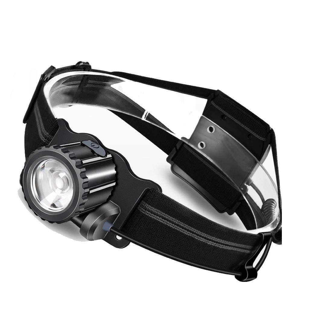 Ultraleichte LED-Scheinwerfer Blendung wiederaufladbare Super Bright Head-mounted Taschenlampe im Freien wasserdichte Miner's Lampe