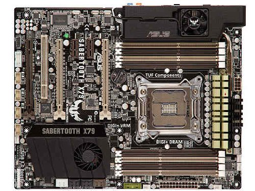 ASUS Sabertooth X79 LGA 2011 Intel X79 SATA 6Gb/s USB for sale  Delivered anywhere in USA