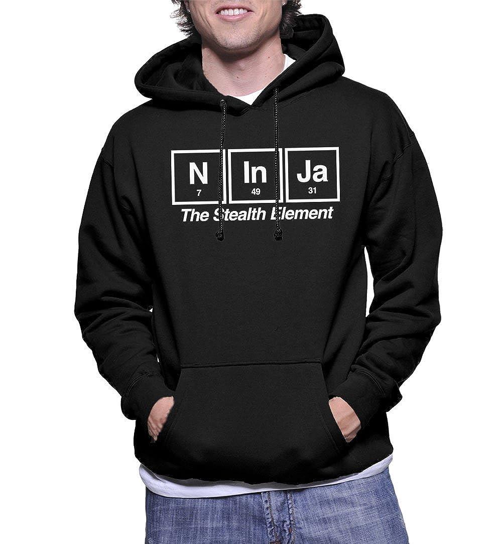 Amazon.com: Mens Ninja The Stealth Element Hoodie ...
